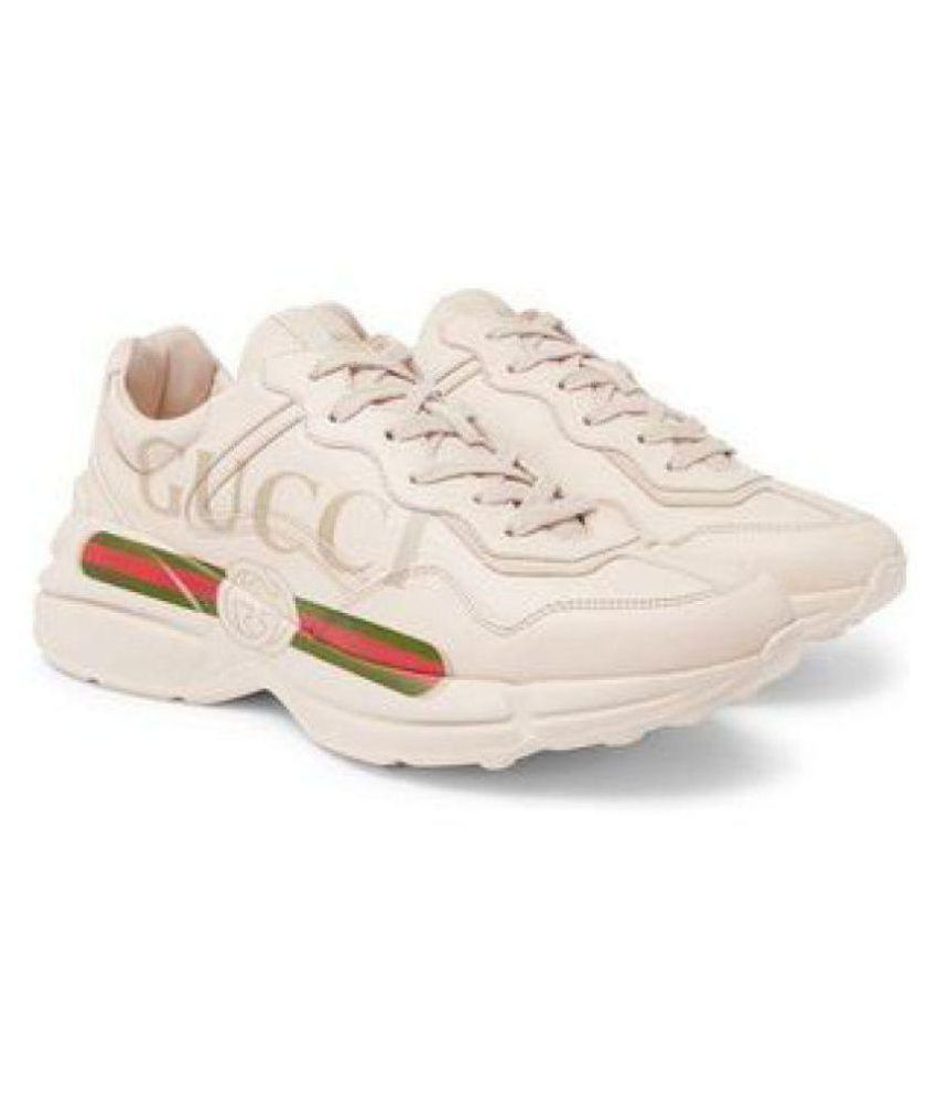 dd990e5db0f9 Gucci White Running Shoes - Buy Gucci White Running Shoes Online at Best  Prices in India on Snapdeal