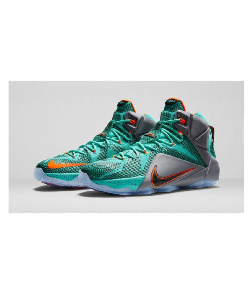 official photos 3c02a 5b7f9 Nike lebron 12 Green Basketball Shoes Nike lebron 12 Green Basketball Shoes  ...