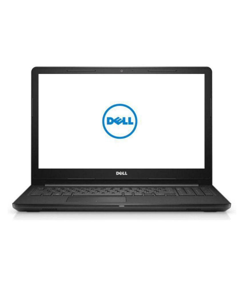 Dell Inspiron 3567 Notebook Core i3 (7th Gen) / 4GB RAM / 1TB HDD / 39.62cm(15.6)  / Windows 10 Home with MS Office Home & Student / Black