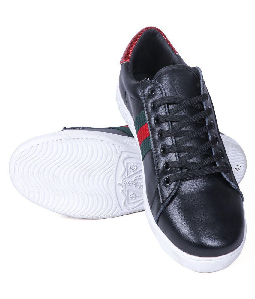 2bddd08a0c1 Gucci Black Casual Shoes Price in India- Buy Gucci Black Casual Shoes  Online at Snapdeal