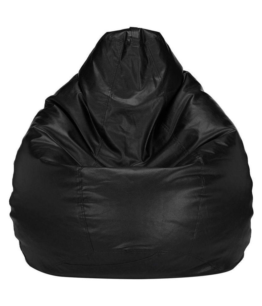 RB  Bean Bag Cover Without Bean XXXL Black (Without Bean)