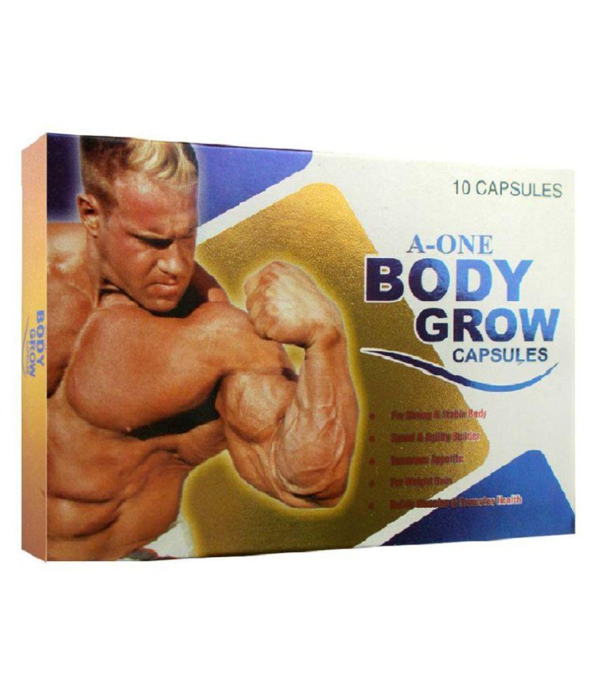G & G A One Body Grow Capsule 10x10= 100 no.s Weight Gainer Tablets