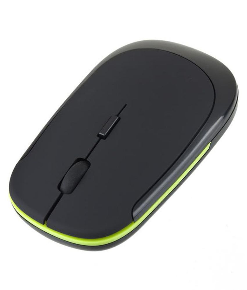 2.4GHz Ultra Slim Cordless Wireless Optical Gaming Mouse for PC Laptop