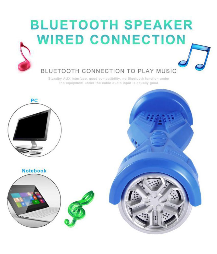 Twist Car Shaped Bluetooth Speakers Portable Hands-free Calls Stereo