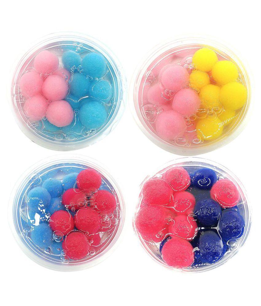 60ml Diy Crystal Slime Clay Mud Ball Sludge Plasticine Kids