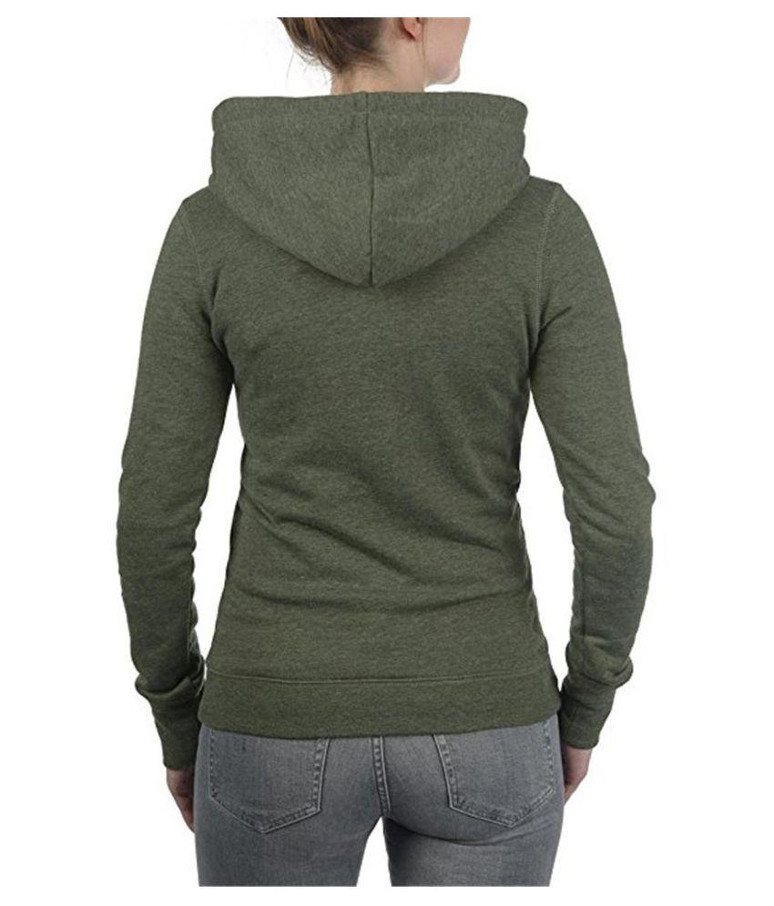 Auxo Women's Casual Long Sleeve Zipper Hooded Sweatshirt Hoodie Jacket Coat