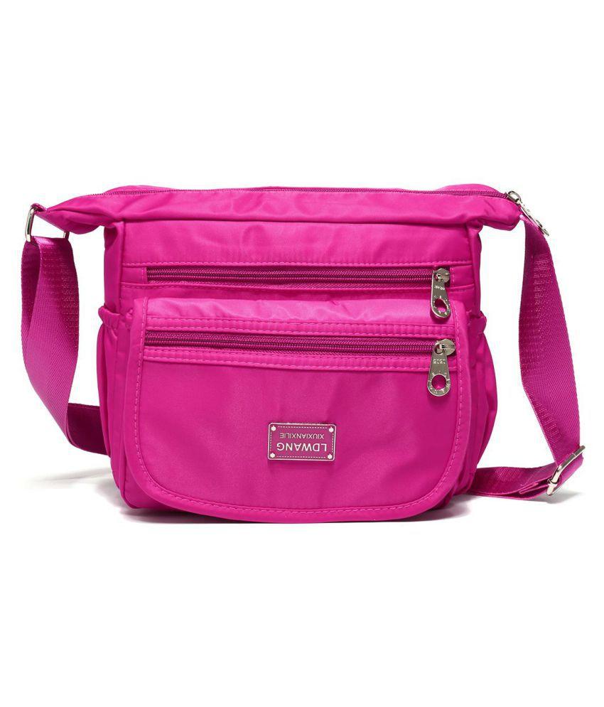 fe279c4d63a8 ... New Women Nylon Waterproof Crossbody Bag Casual Outdoor Lady Shoulder  Bags ...