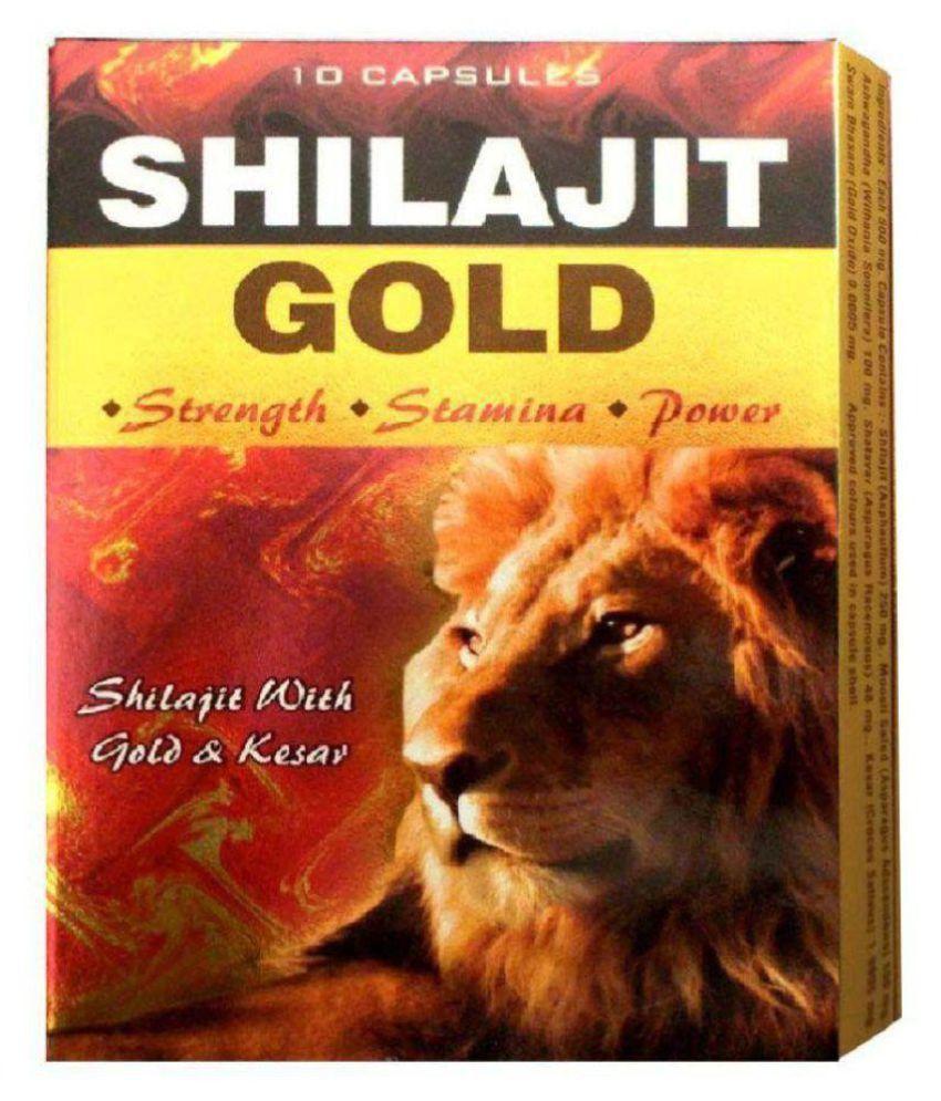 Shilajit Gold Capsule 10x10= 100 no.s Multivitamins Capsule