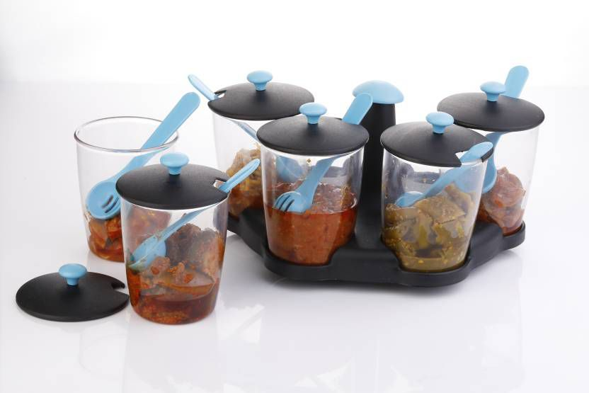 SKYHEART Polycarbonate Spice Container Set of 1