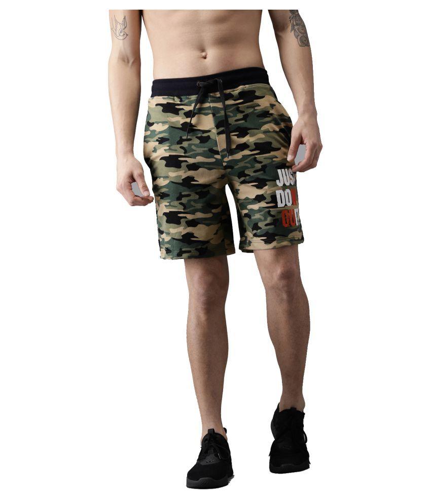 Sayitloud Green Shorts