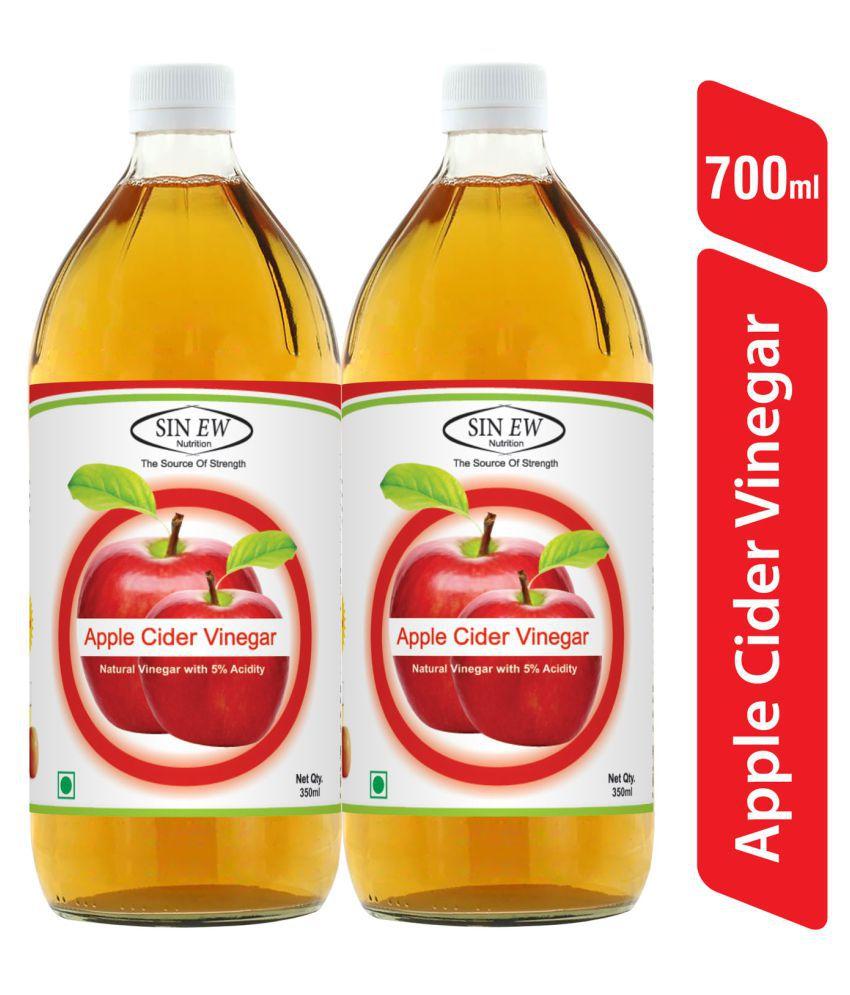 Sinew Nutrition Apple Cider Vinegar Without Mother(Filtered) 350 g Pack of 2