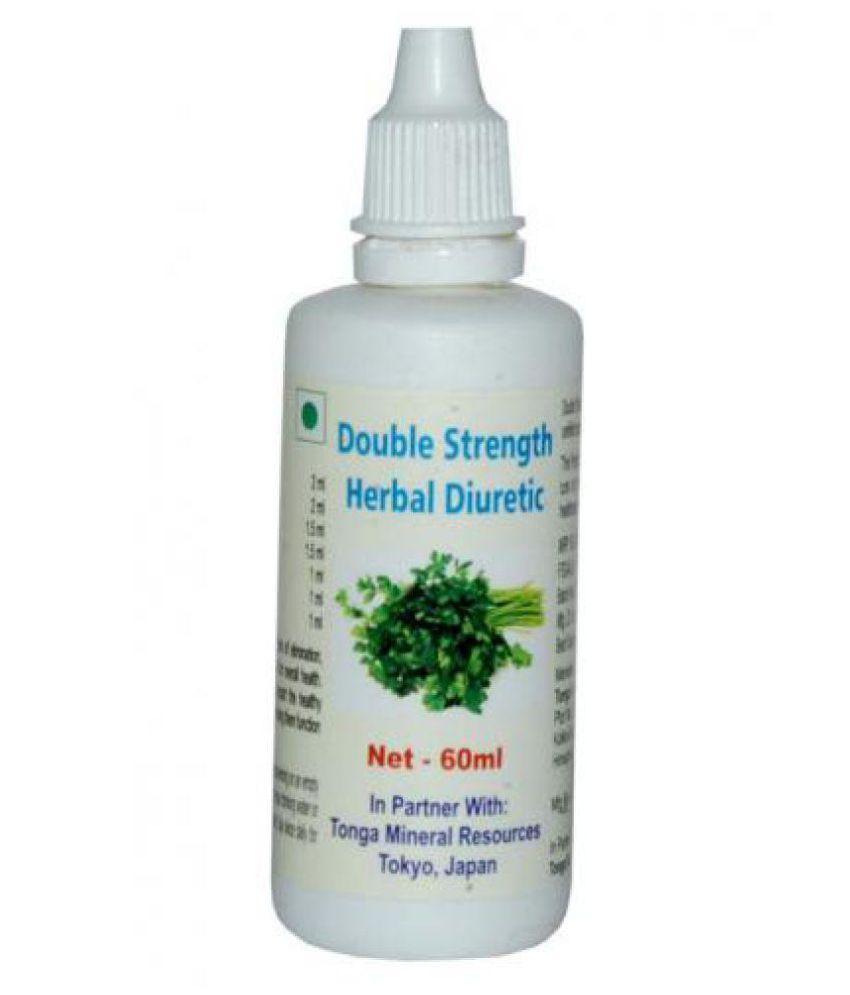 Tonga Herbs Double Strength Herbal Diuretic Drops (Buy Any Supplement Get The Same 60ml Drops Free) 60 ml Minerals Syrup