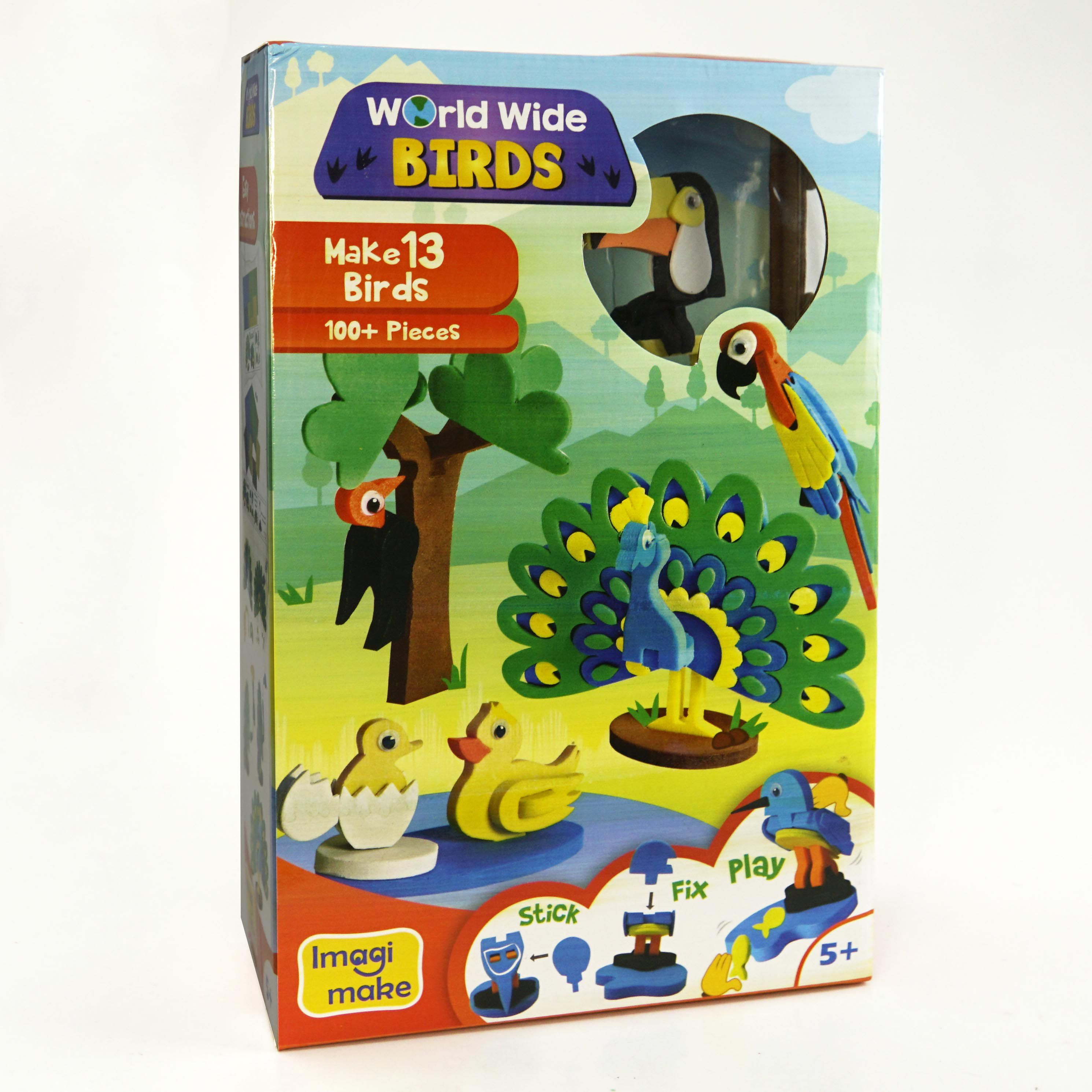 Worldwide Birds Educational Toy 5 Year Old Boys And Girls ...