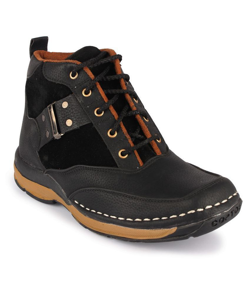 Footista Black Casual Boot