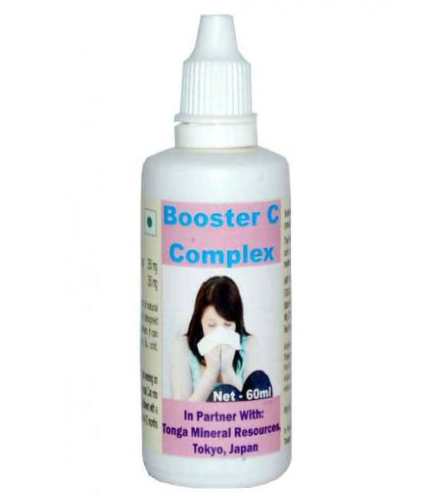 Tonga Herbs Booster C Complex Drops 60 ml Minerals Syrup