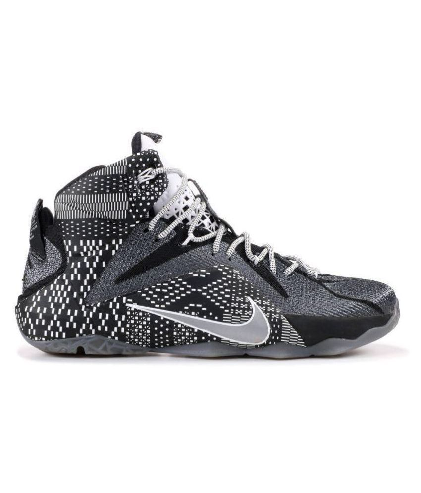 Nike Lebron 12 BHM Black Basketball Shoes - Buy Nike Lebron 12 BHM Black  Basketball Shoes Online at Best Prices in India on Snapdeal 458946faf