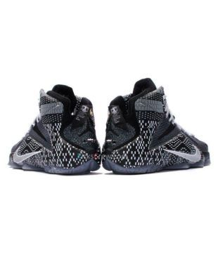 best sneakers 83876 e597a Nike Lebron 12 BHM Black Basketball Shoes - Buy Nike Lebron ...