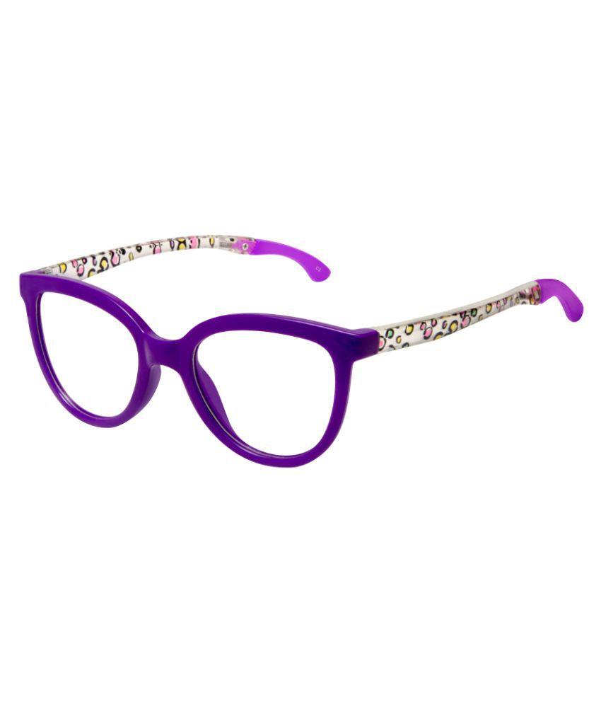 Cardon Purple Cateye Full Rim Kids EyeFrame