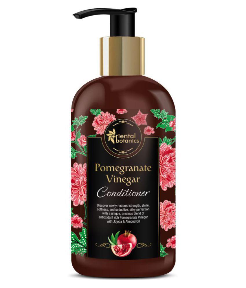 Oriental Botanics Pomegranate Vinegar Conditioner - For Healthy, Strong Hair with Golden Jojoba Oil Deep Conditioner 300 ml