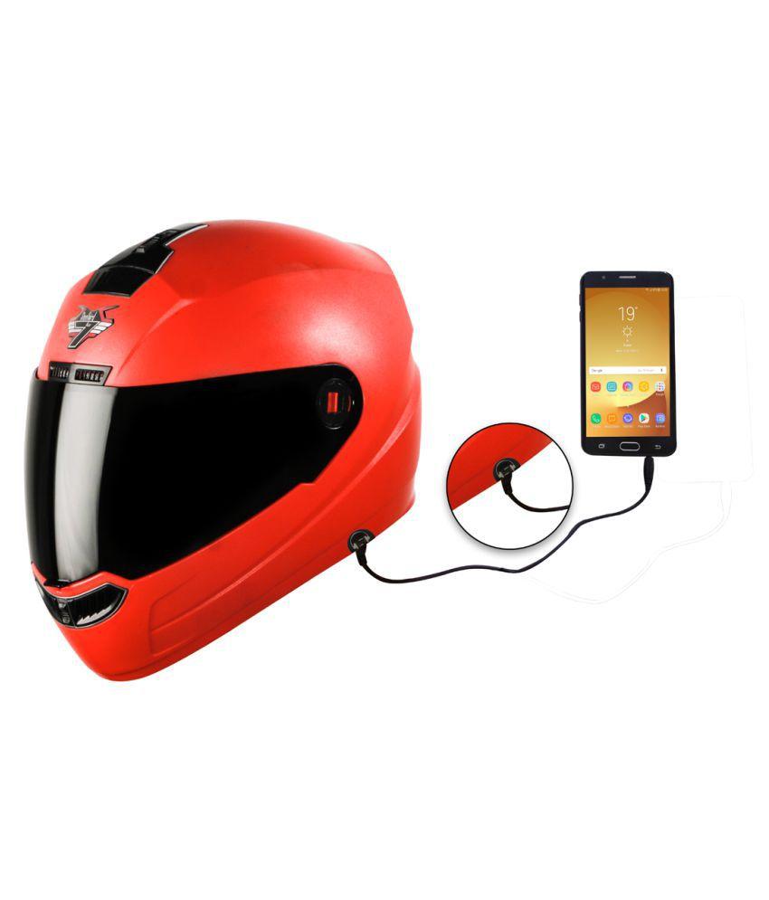 Steelbird SBA-1 7Wings - Full Face Helmet Red L