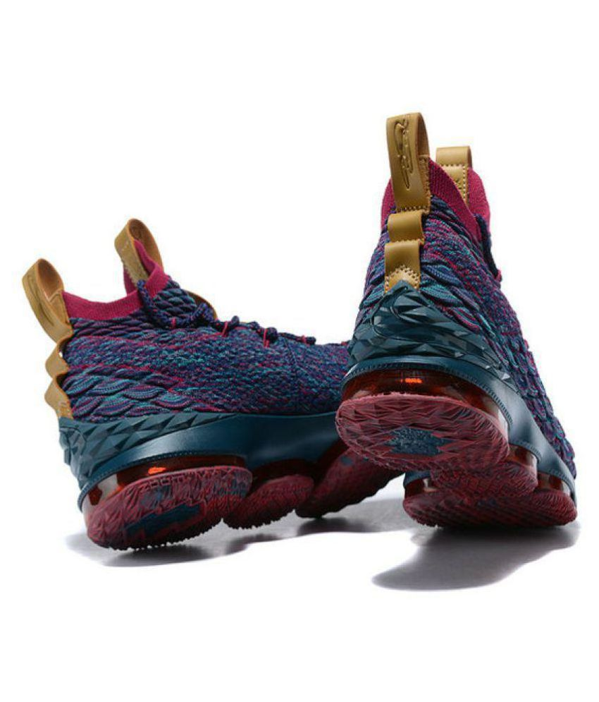 99f15e9da98 Nike LEBRON 15 Multi Color Basketball Shoes - Buy Nike LEBRON 15 Multi  Color Basketball Shoes Online at Best Prices in India on Snapdeal