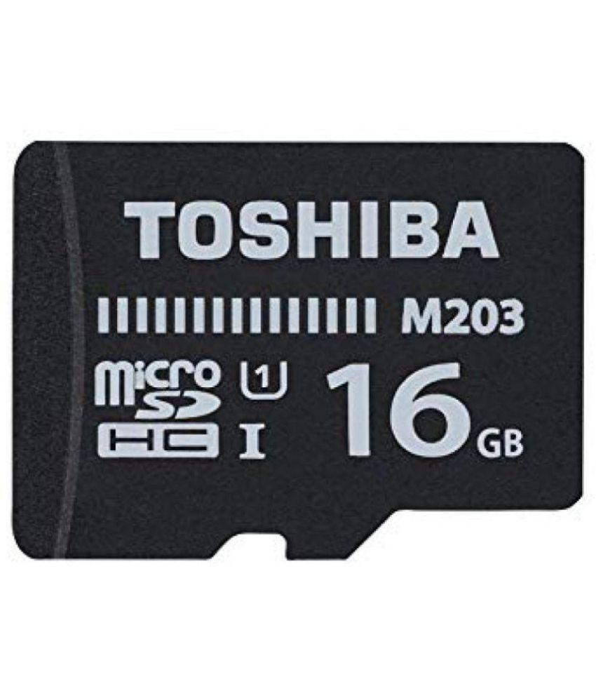 Toshiba 16  GB Class 10 Memory Card