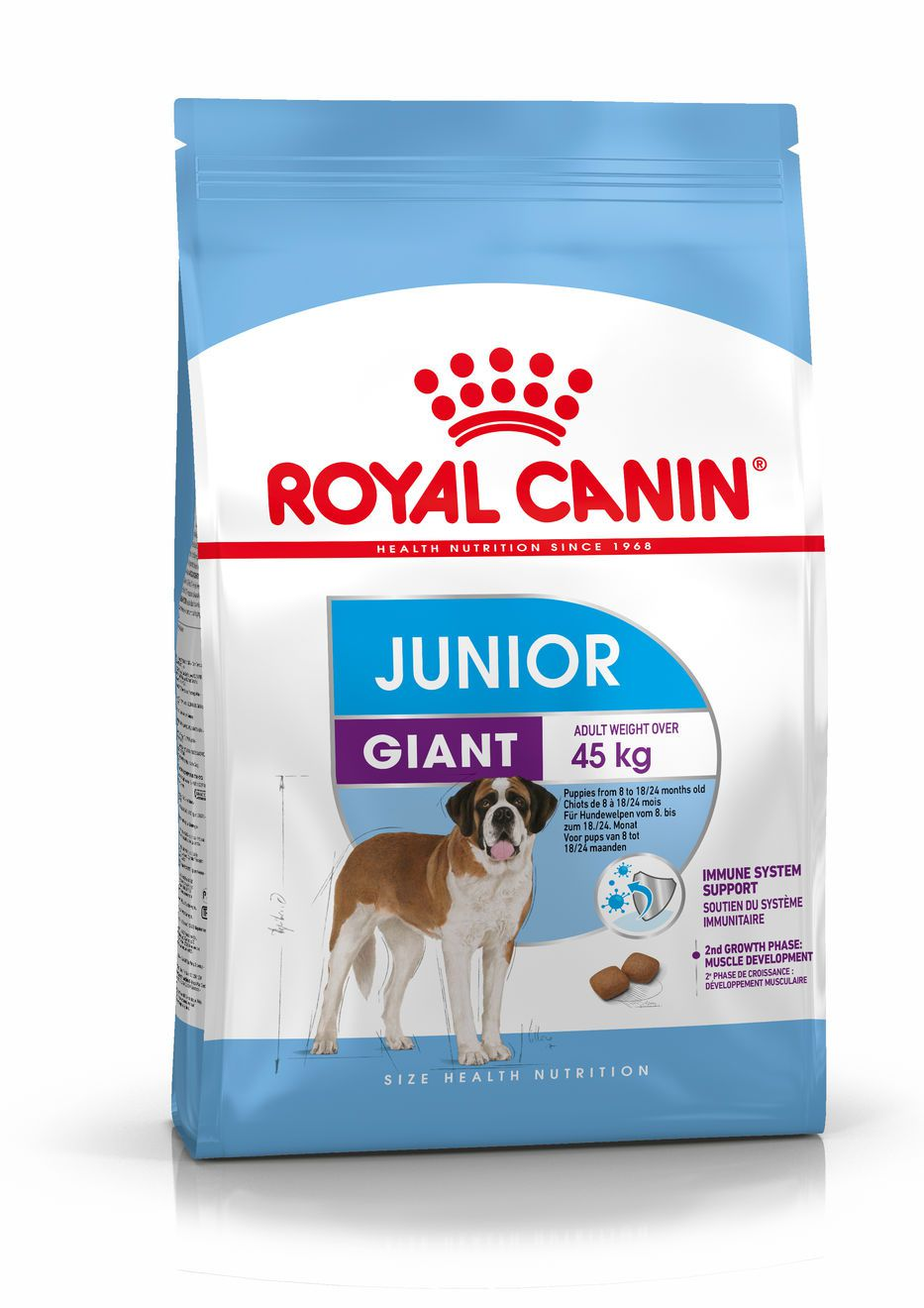 Royal Canin Chicken Based Giant Junior Food - 15 Kg