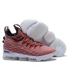 watch 2bda5 671d8 Quick View. Nike LEBRON X15 Maroon Basketball Shoes