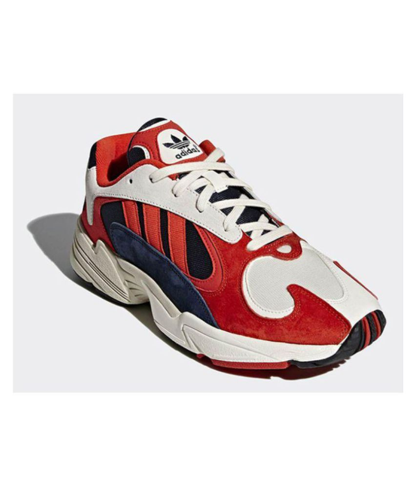 adidas Yung 1 EH0868 (Chalk White Solar Yellow Red)