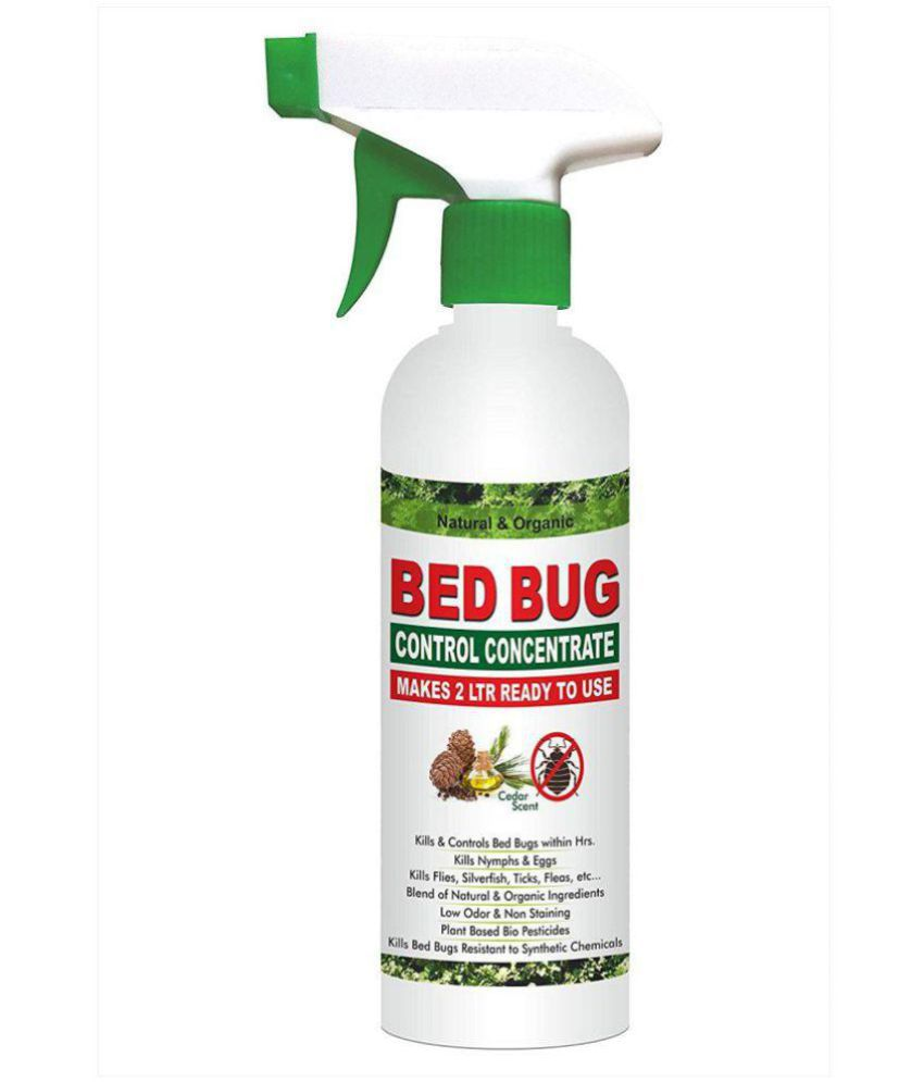 Green Dragon's Natural & Organic Bed Bug Control Concentrate Makes 2  LTR Ready to Use