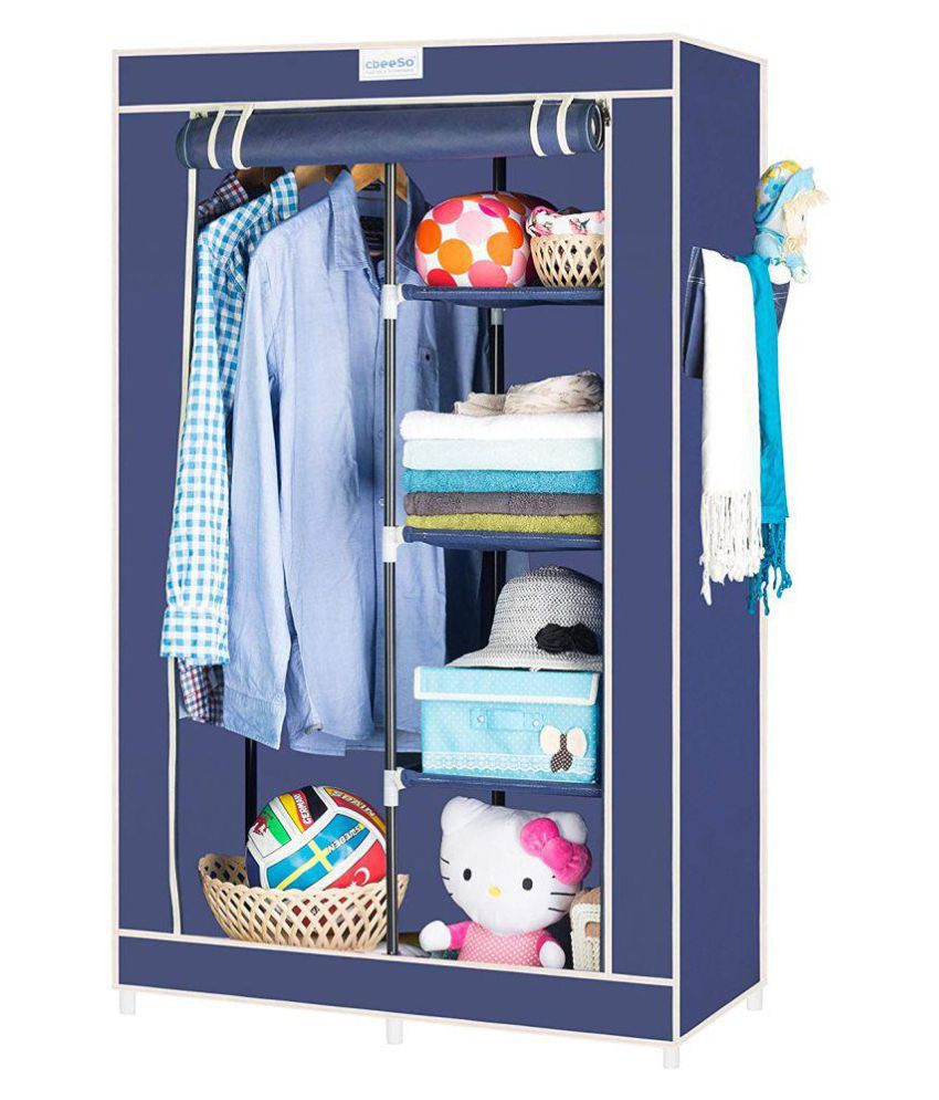 hot sale online 4c576 a7fad Fancy & Portable Foldable Closet Wardrobe Cabinet - BLRK1 ...
