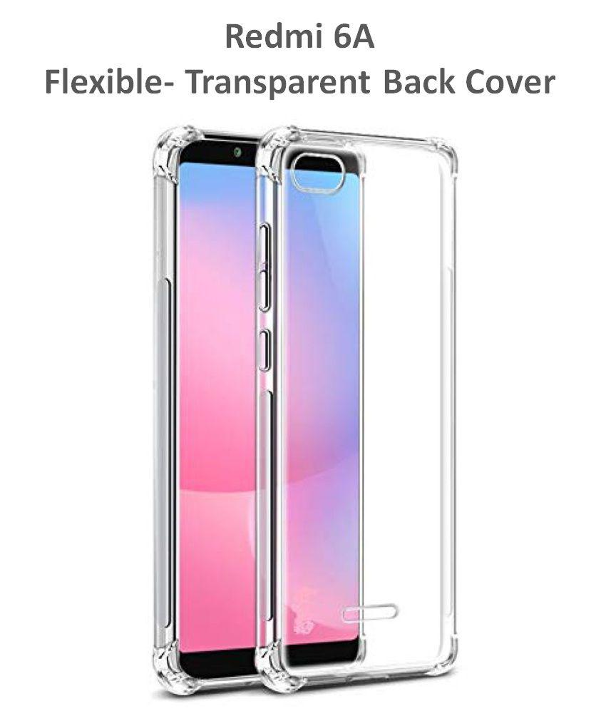 Xiaomi Redmi 6A Plain Cases Bracevor   Transparent
