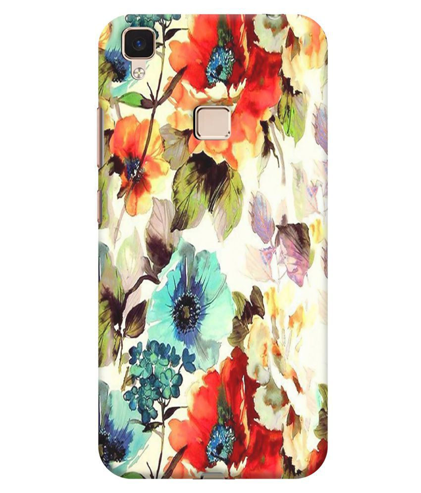 Vivo V3 Printed Cover By FIONS Slim and colorful Designer case Premium Quality