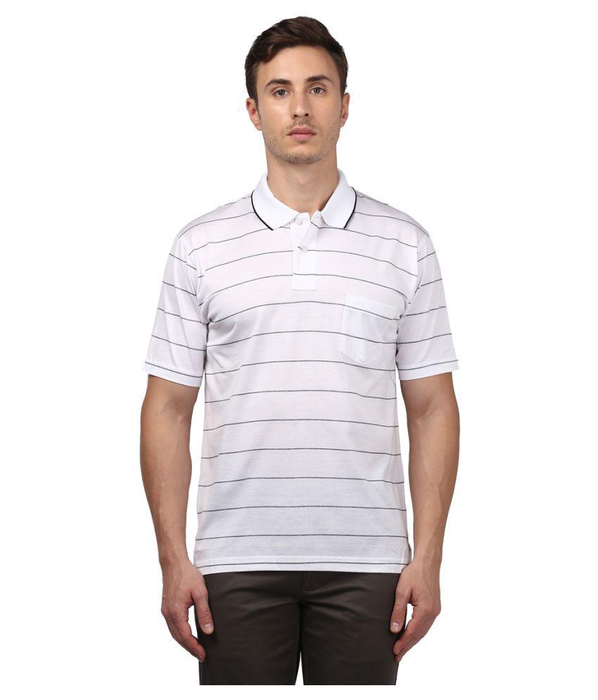 Colorplus White Half Sleeve T-Shirt