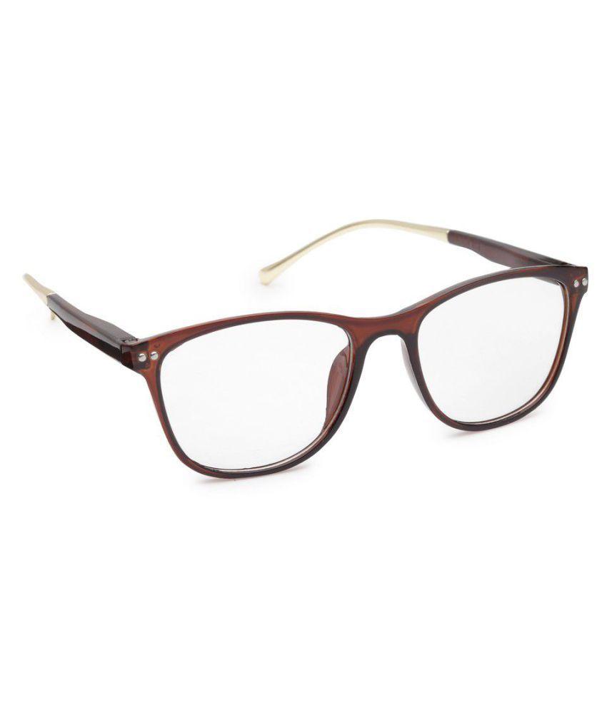 Get Glamr Clear Wayfarer Sunglasses ( SG-UN-EG-5803-90 )