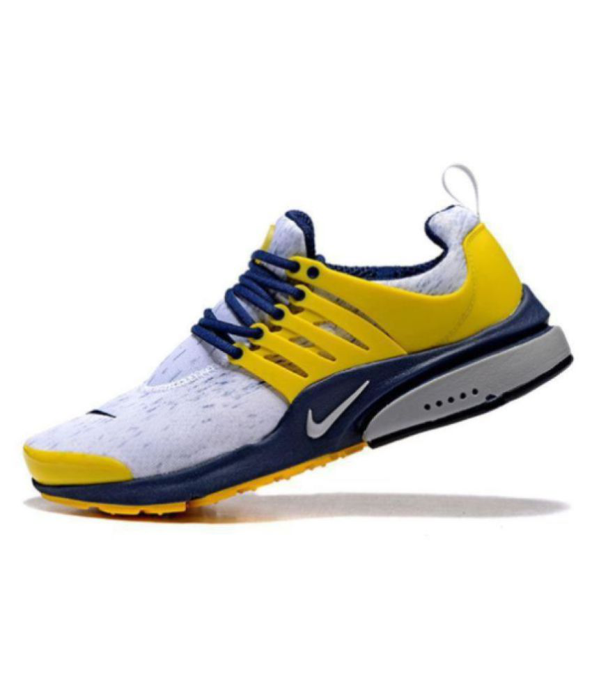 247ff0c9c496 Nike Air Yellow Designer Shoe - Buy Nike Air Yellow Designer Shoe Online at  Best Prices in India on Snapdeal
