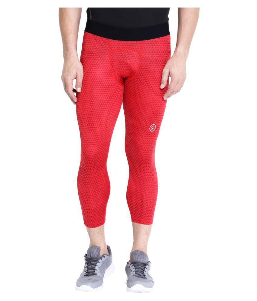 CHKOKKO Premium Quality Sports Compression Running Leggings Gym Elastic Tight Pants for Men