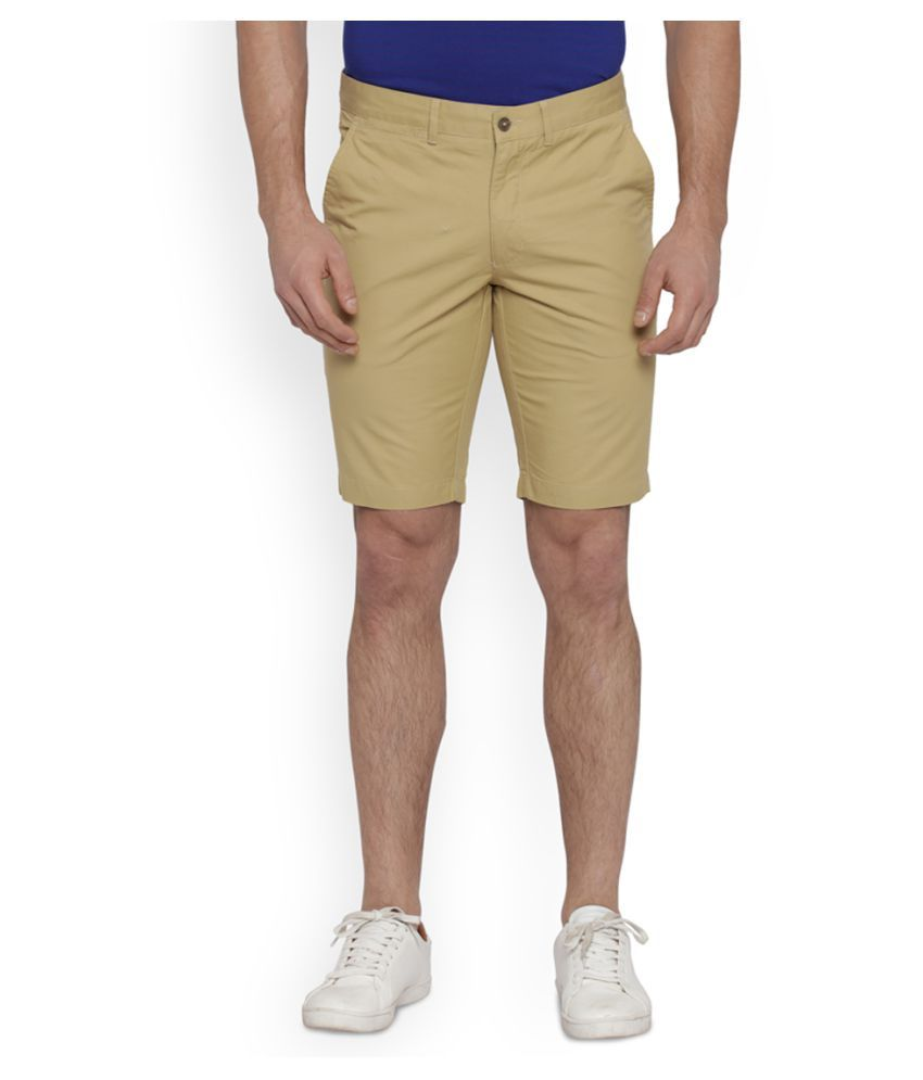 Park Avenue Brown Shorts