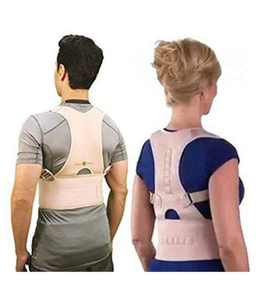 SIYA CORP Posture Support Corrector Back Brace Belt XL