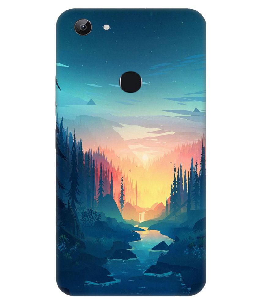 Vivo Y83 3D Back Covers By Crockroz 3D Designs