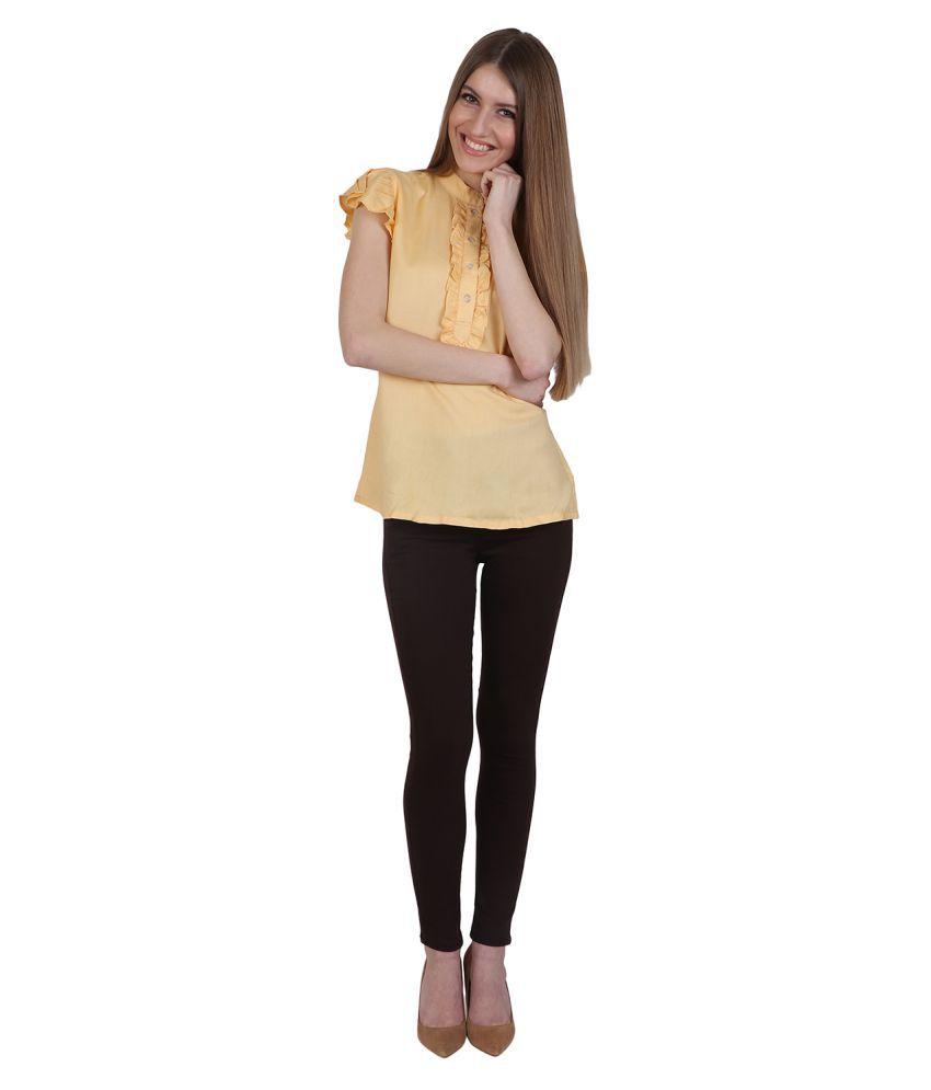 Kalakaari Cotton Lycra Jeggings - Brown