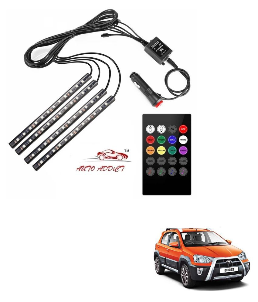 Auto Addict LED Strips Multicolour