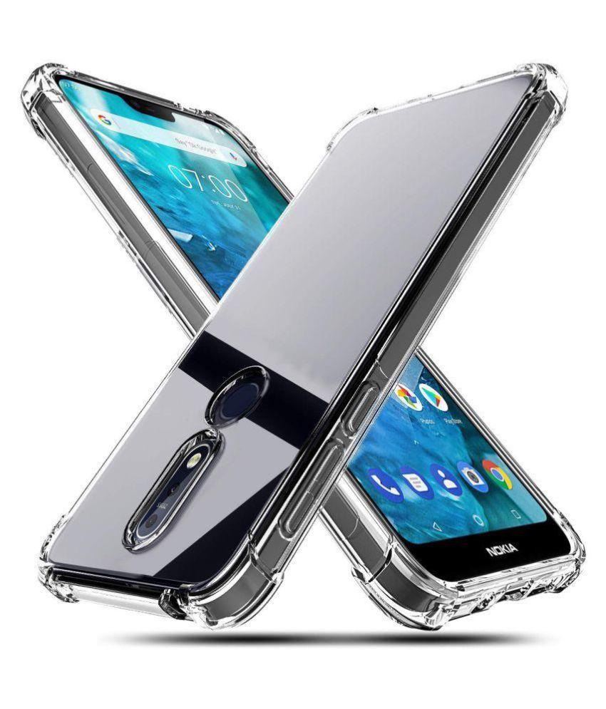 Nokia 7.1 Bumper Cases Spectacular Ace - Transparent
