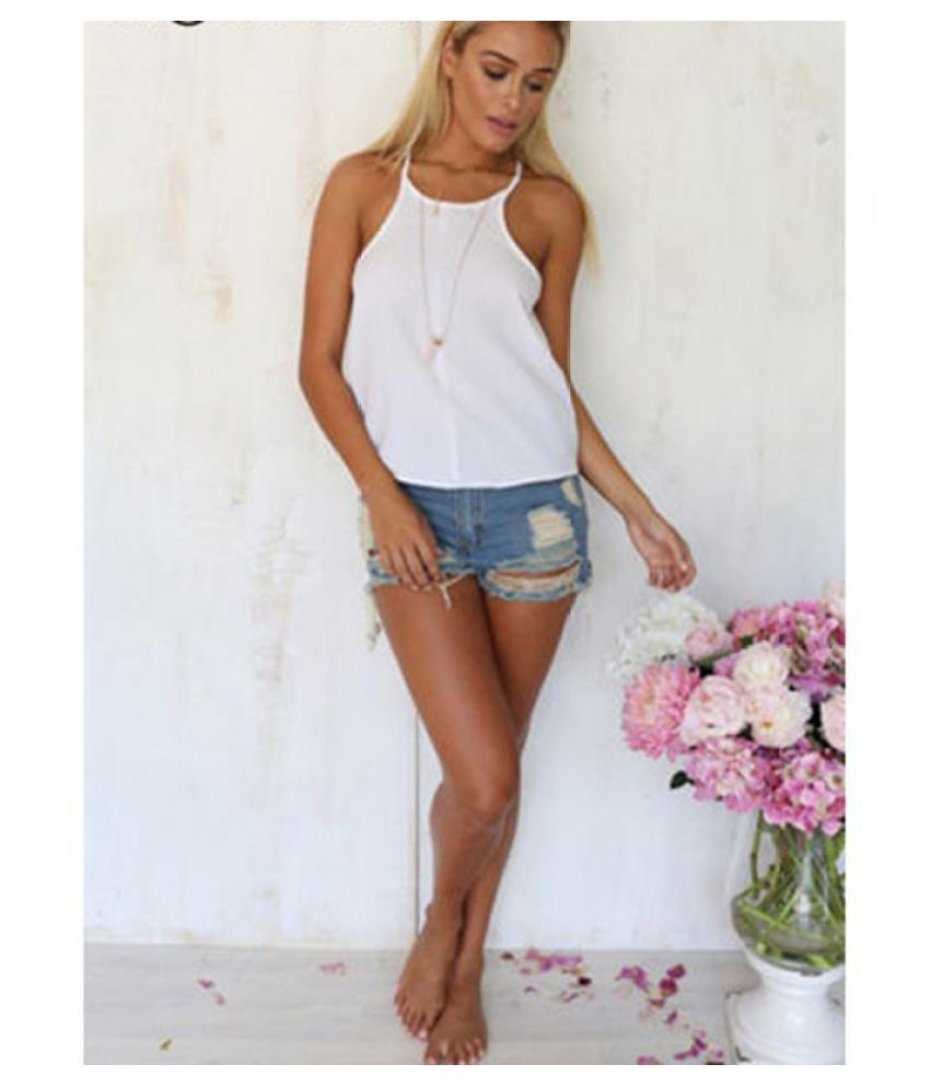 6532f1e5a500 ... Sexy Womens Loose Casual Backless Vest Sleeveless Summer Shirt Tank  Tops Blouse ...