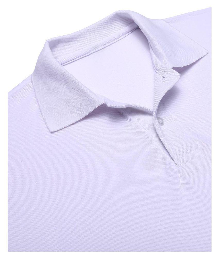 Men Casual Polo Neck Long Sleeve  Loose Polo T-Shirt Blouse Tops