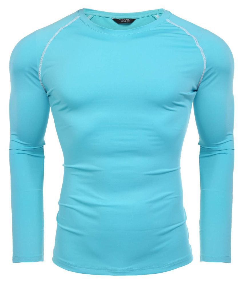 Men  Long Sleeve  Slim Sports Casual T-Shirt Tops