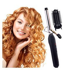 Jm Barunn Hair Curler Curling Iron 45W ( Black & SIlver ) Product Style