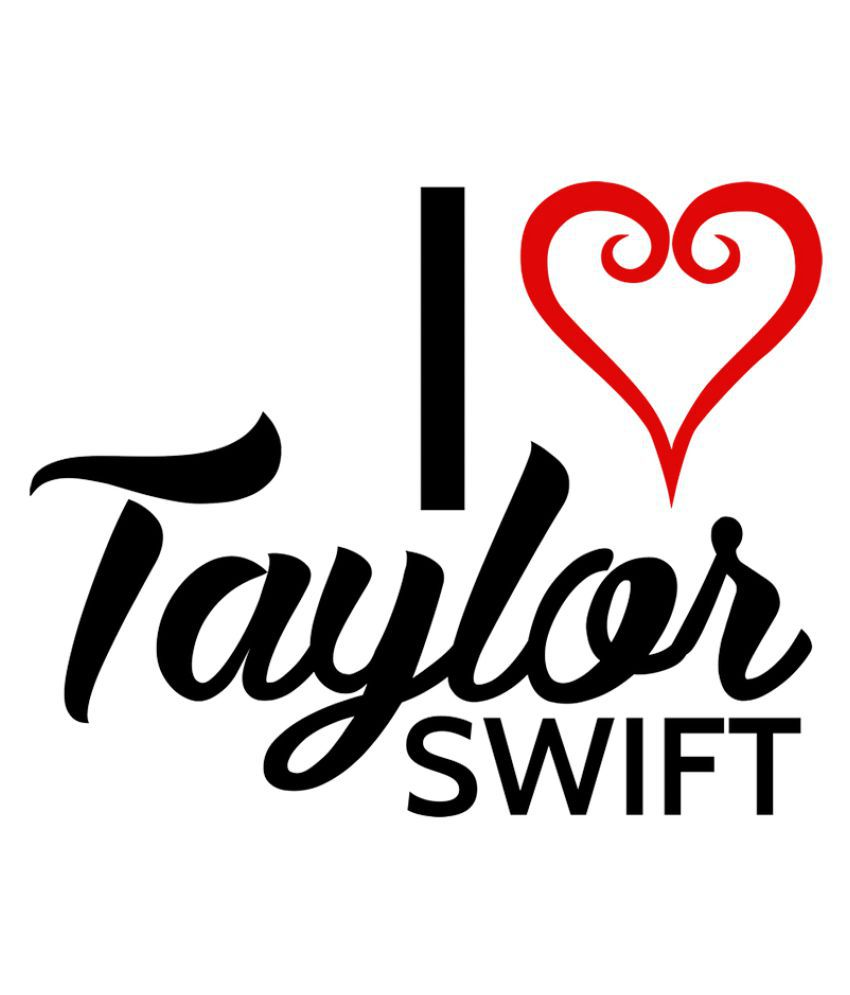 Nutspin I Love Taylor Swift Graphic Printed Tshirt For Girls Buy Nutspin I Love Taylor Swift Graphic Printed Tshirt For Girls Online At Low Price Snapdeal