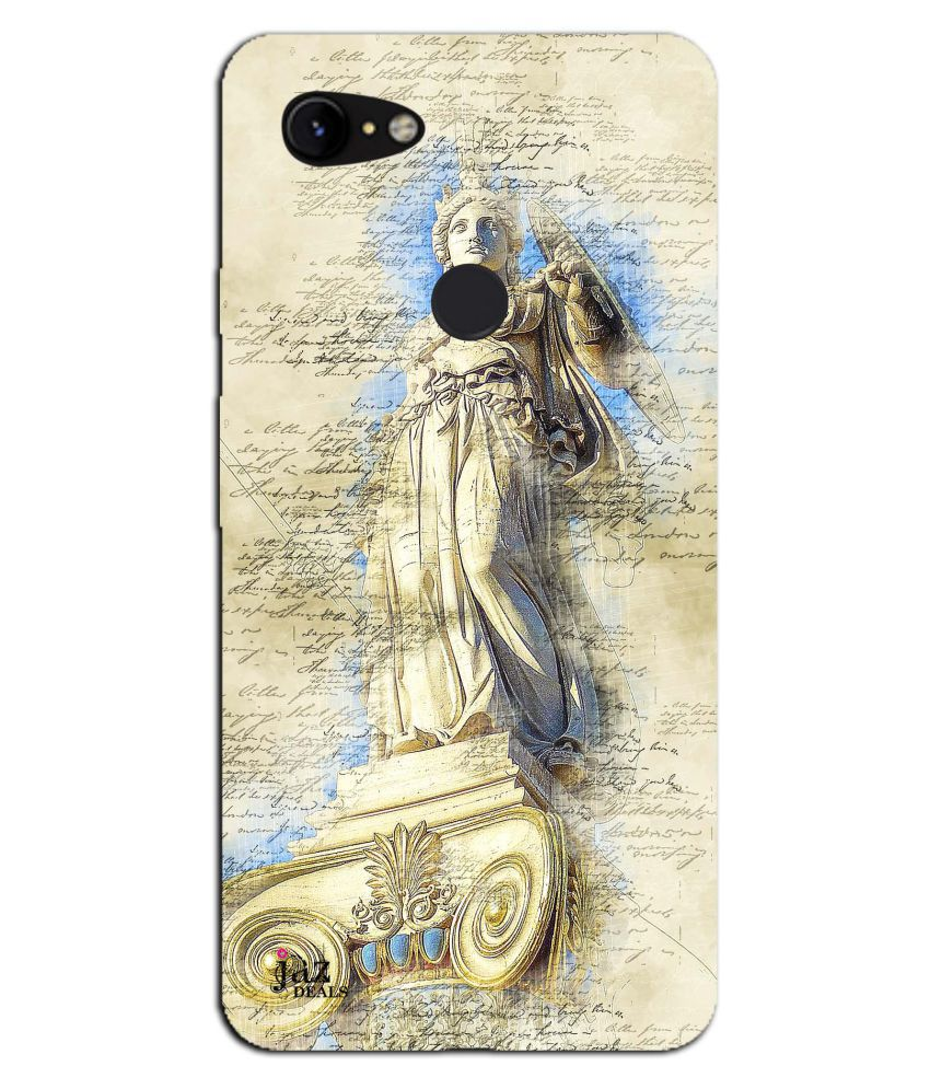 Google Pixel 3 Printed Cover By Jaz Deals Acropolis Print Hard Cover