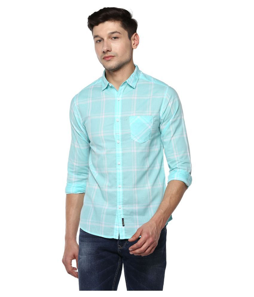 Spykar 100 Percent Cotton Shirt